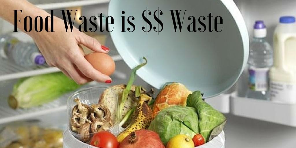 Food Waste is $$$ Waste